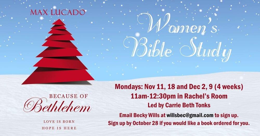 Because of Bethlehem women monday study nov 2019 fb.jpg
