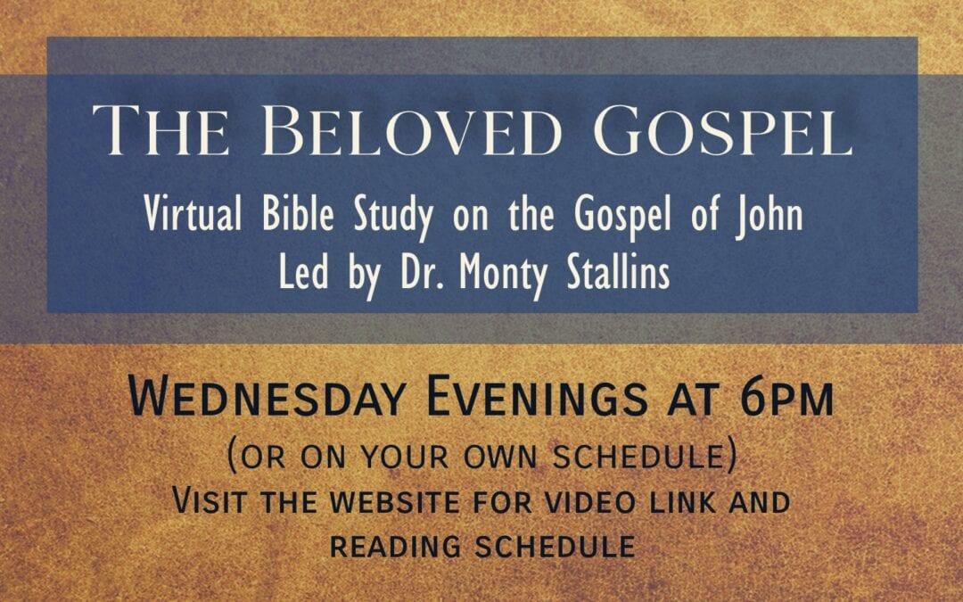 New Wednesday Evening Bible Study 9/9/20