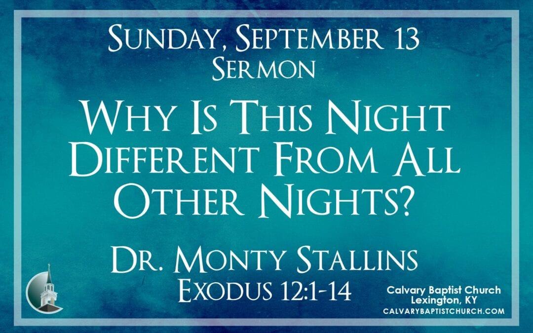 Sunday with Calvary 9/13/20
