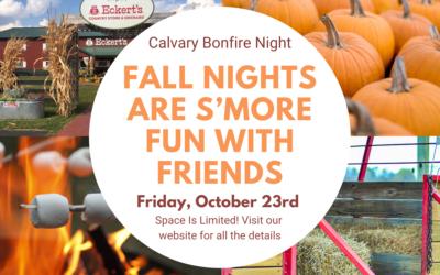 Calvary Bonfire Night 10/23/20