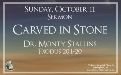 Sunday with Calvary 10/11/20