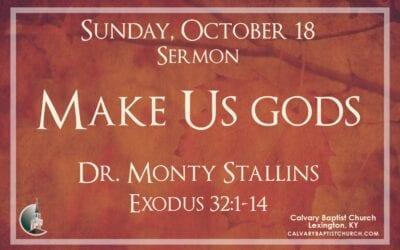 Sunday with Calvary 10/18/20