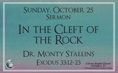 Sunday with Calvary 10/25/20