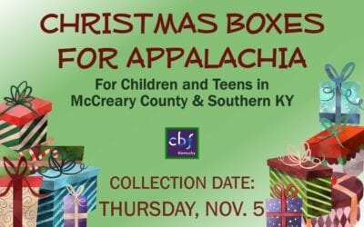 Christmas Boxes for Appalachia