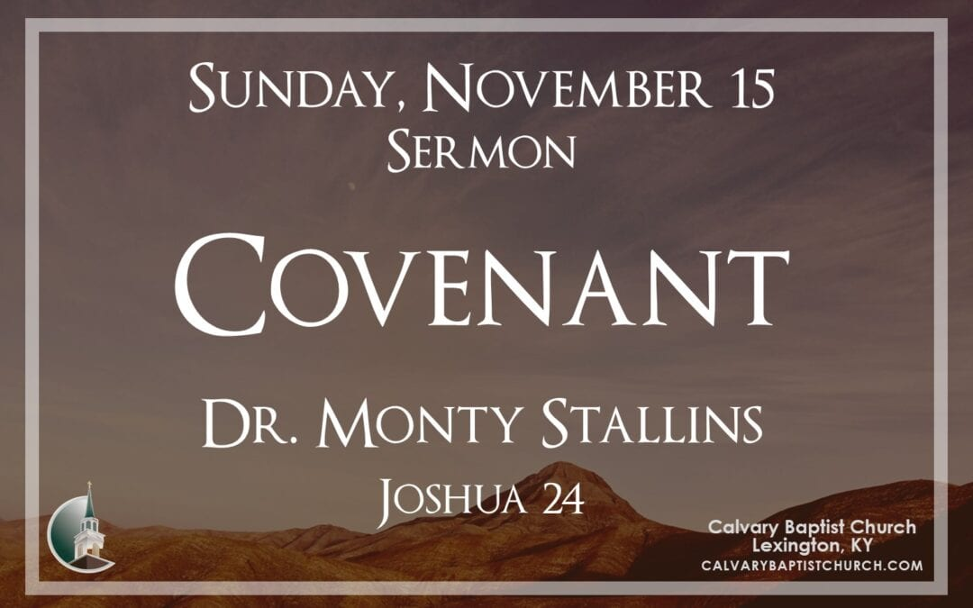 Sunday with Calvary 11/15/20