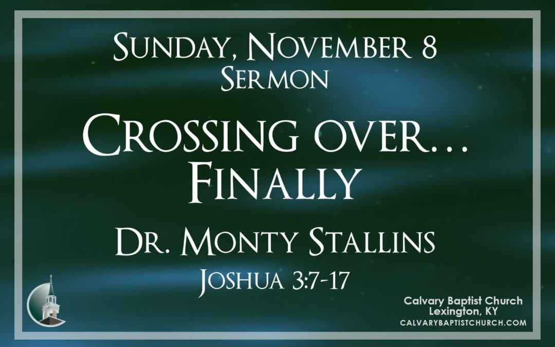 Sunday with Calvary 11/8/20
