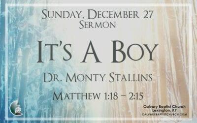 Sunday with Calvary 12/27/20