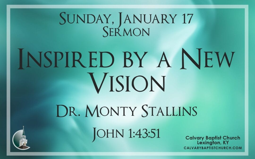 Sunday with Calvary 1/17/21