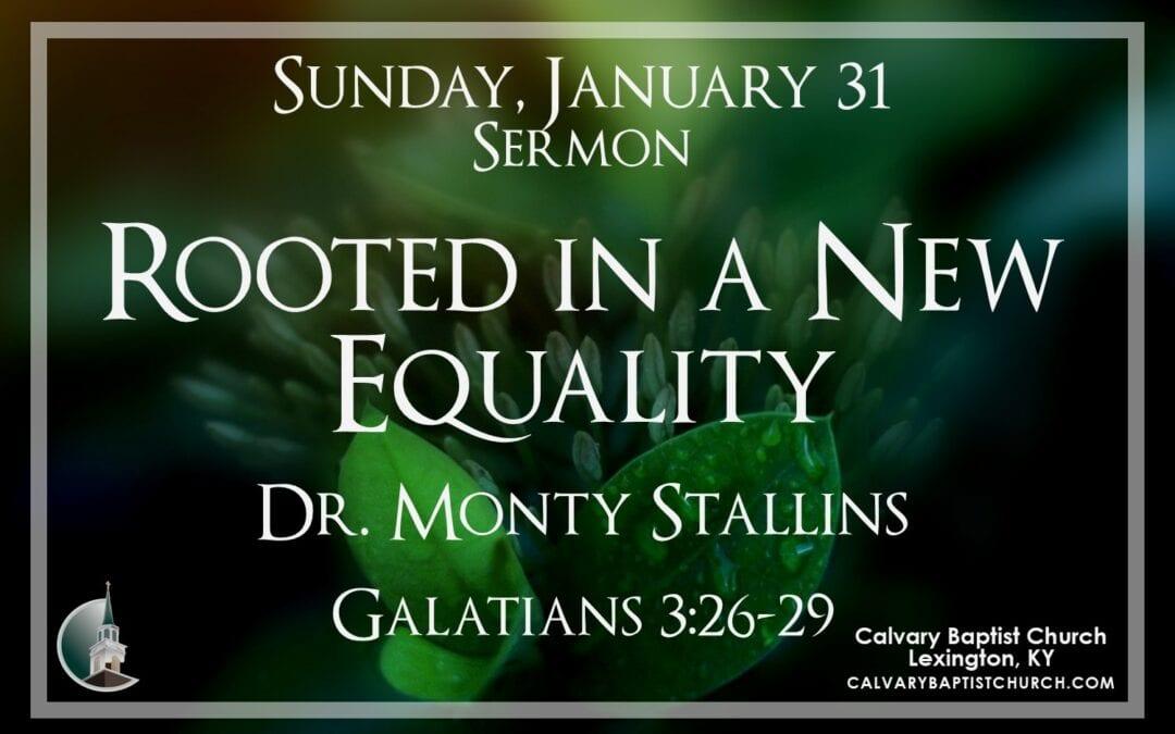 Sunday with Calvary 1/31/21