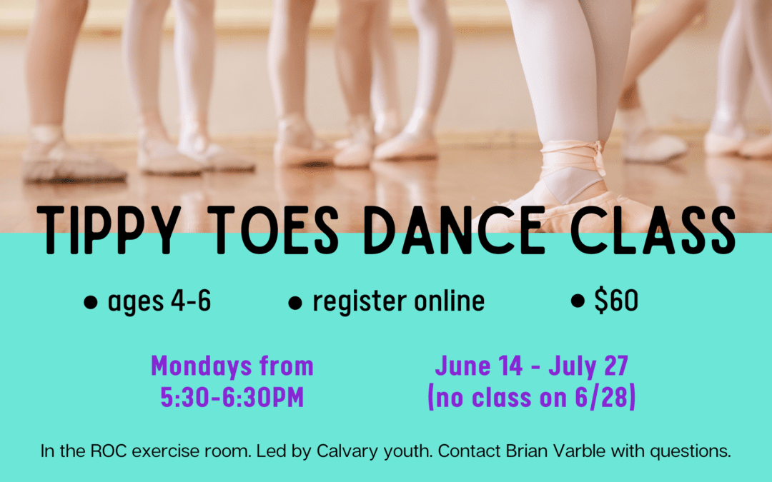 New Tippy Toes Dance class for summer