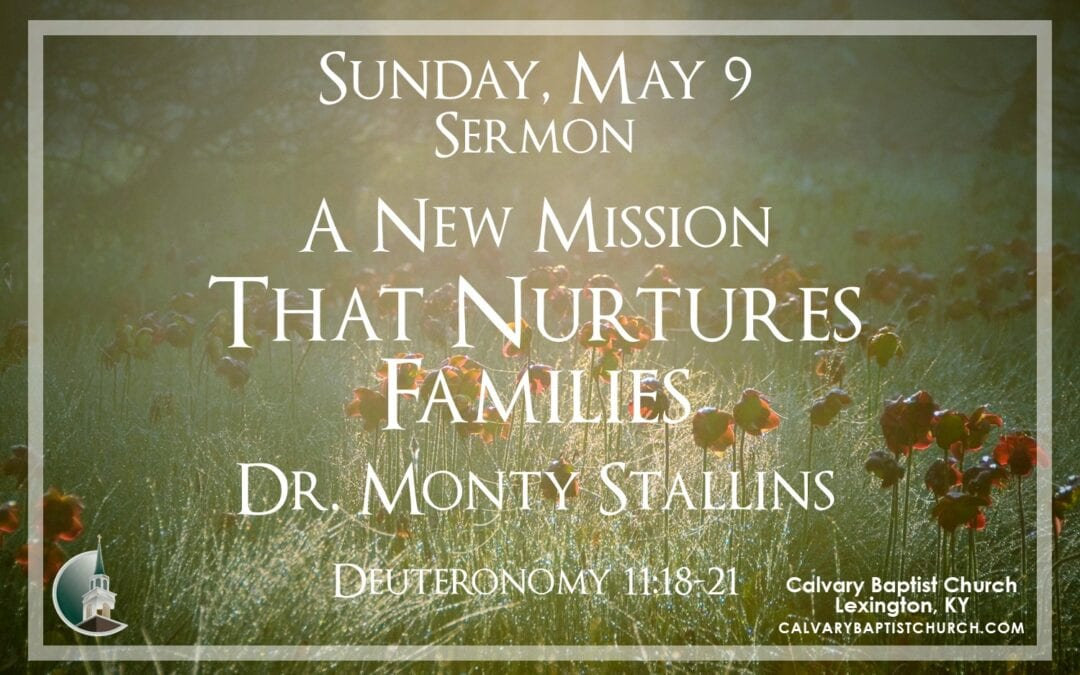 Sunday with Calvary 5/9/21