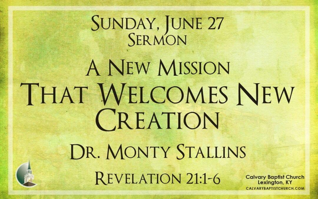 Sunday with Calvary 6/27/21