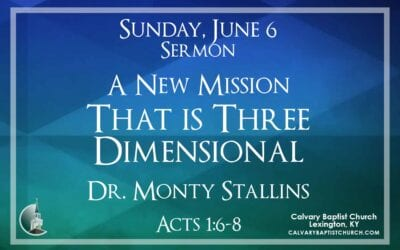 Sunday with Calvary 6/6/21