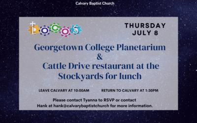 LOGOS trip to Georgetown July 8