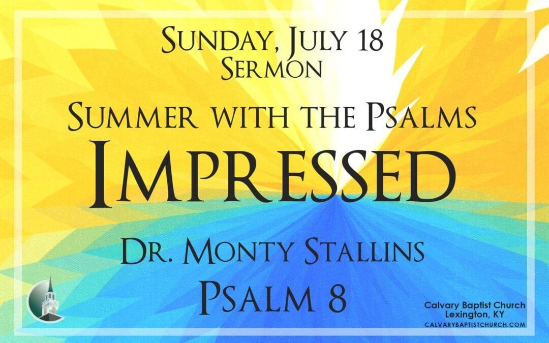 Sunday with Calvary 7/18/21