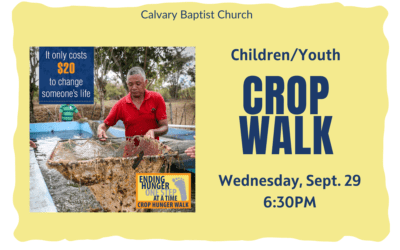 CROP Walk with Children and Youth