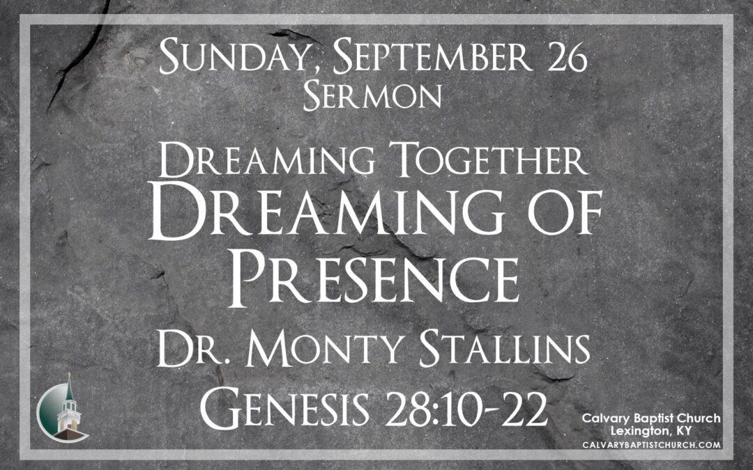 Sunday with Calvary 9/26/21