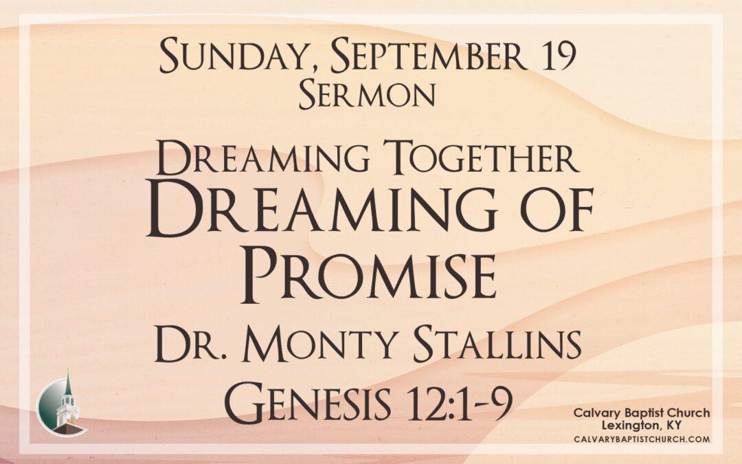 Sunday with Calvary 9/19/21