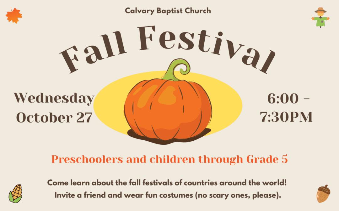 Fall Festivals Around the World 10/27/21