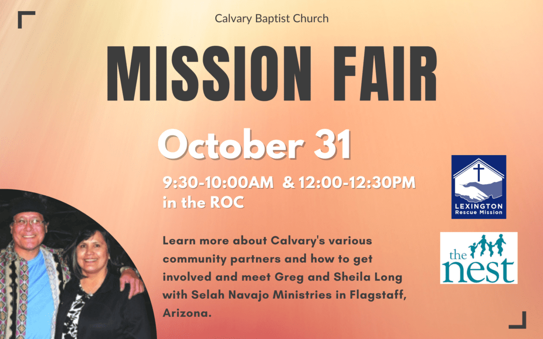 Mission Fair 10/31/21