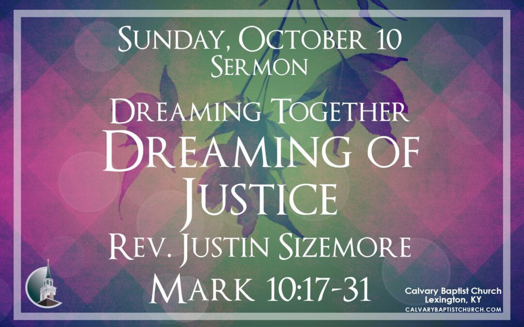 Sunday with Calvary 10/10/21
